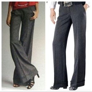 CAbi Gray Flecked Trouser NWT SZ10